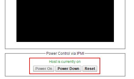 Controles de encendido y apagado