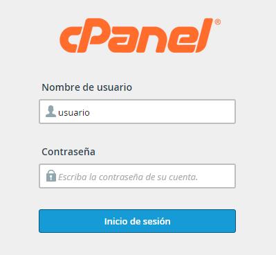 Login cPanel
