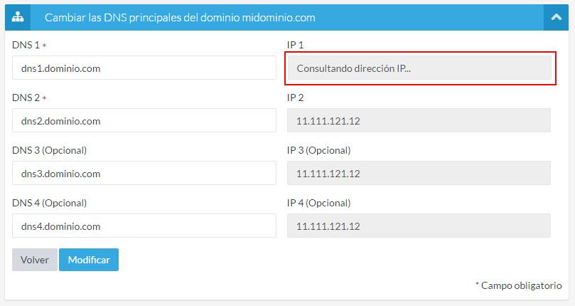 Consultando IP