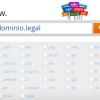 Nueva extensión de dominio disponible: .legal