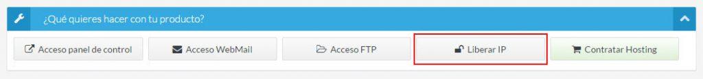 Liberar IP