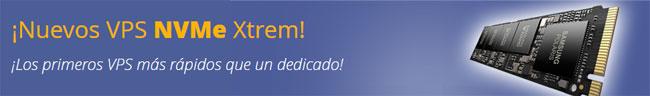 Nuevos servidores VPS con discos NVMe, ¡ya disponibles en Unelink!