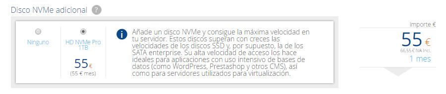 Compra disco NVMe