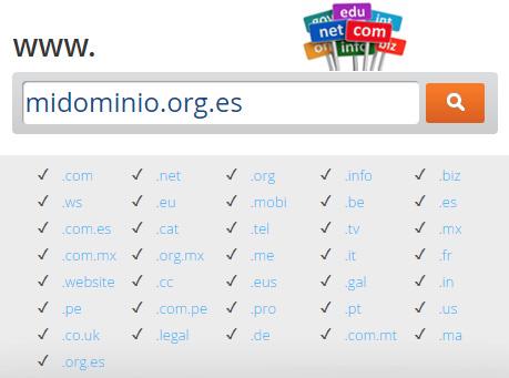 Extensión .org.es