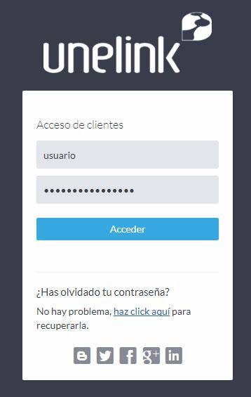 Acceso Extranet