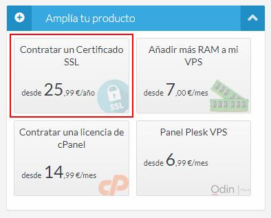Contratar Certificado SSL
