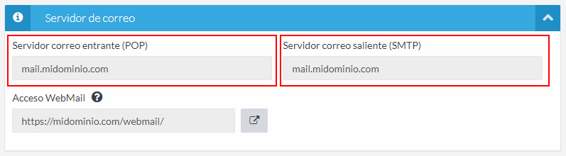 POP y SMTP