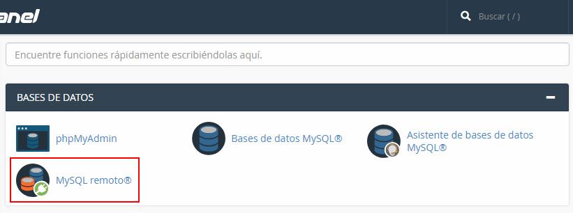 Herramientas bases de datos