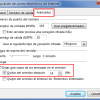 Cambiar los días que Outlook deja los mensajes en el servidor