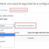 Envíar copias de seguridad de cPanel a un FTP