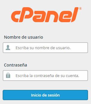 Acceso cPanel