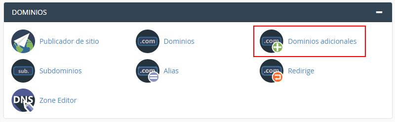 Herramientas de dominios